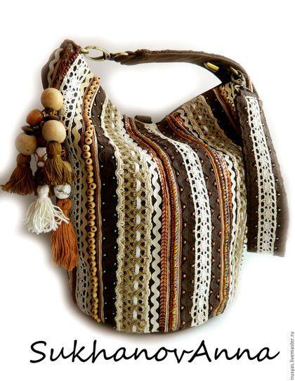 cdcf190b7fe5 Женские сумки ручной работы. Ярмарка Мастеров - ручная работа. Купить Бохо- сумка