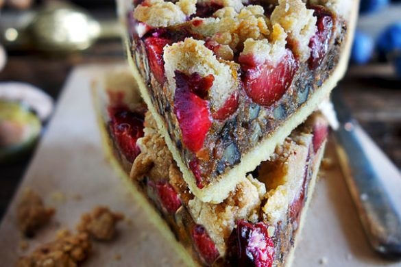 Photo of Plum tart with carrots and walnuts – tongue circus