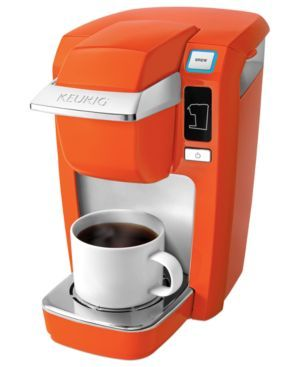 Orange Keurig Single Serve Brewer Aqua Cafe Aqua Blue