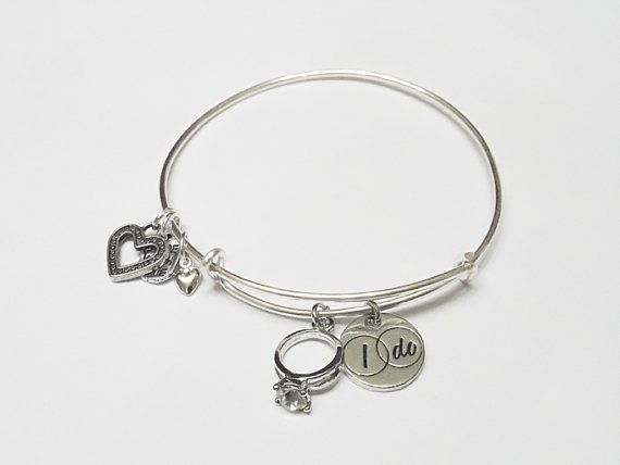 Just Engaged Alex And Ani Inspired Charm Bracelet By
