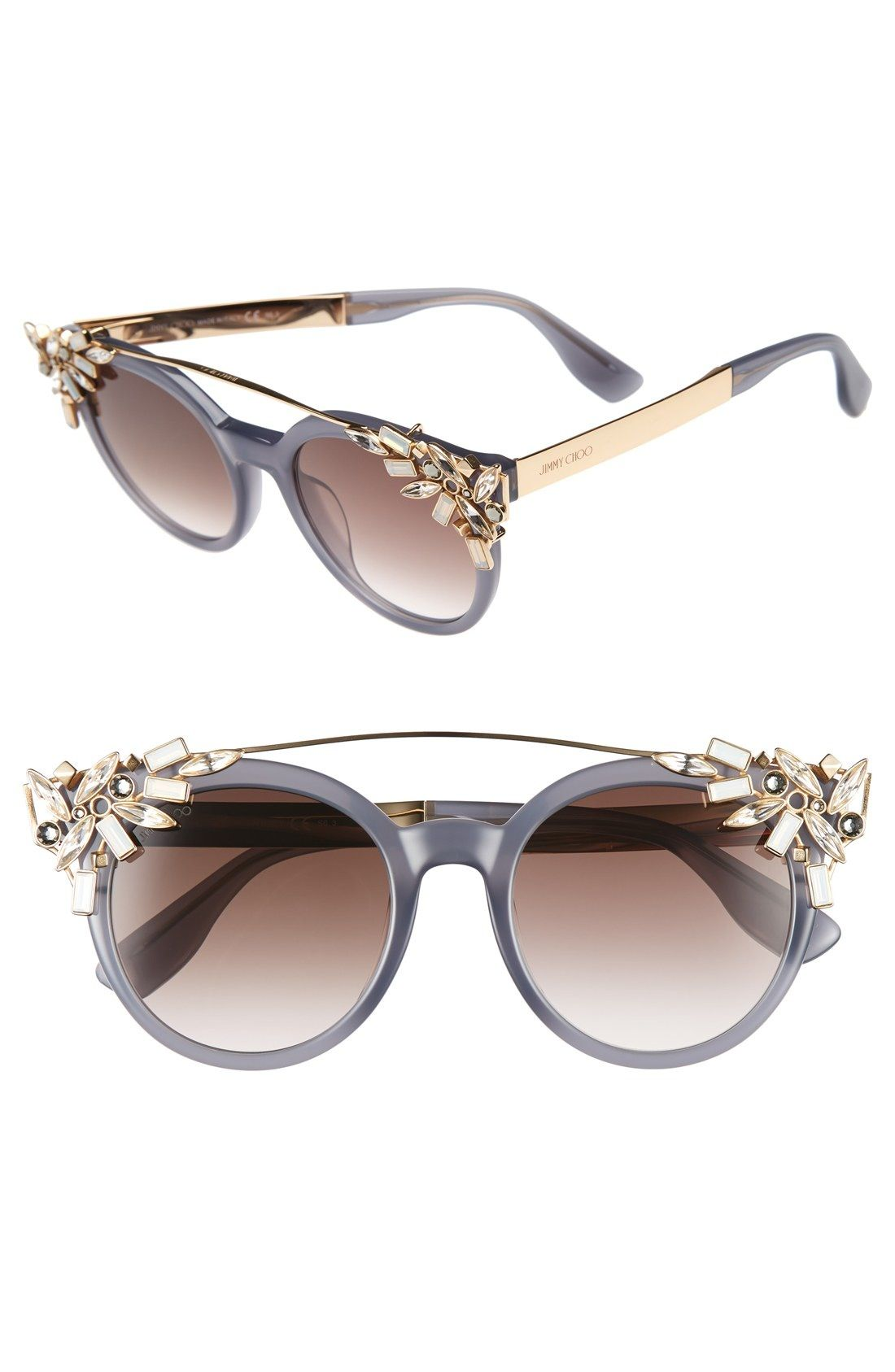 0767b75814a6c Jimmy Choo  Vivy  51mm Sunglasses available at  Nordstrom