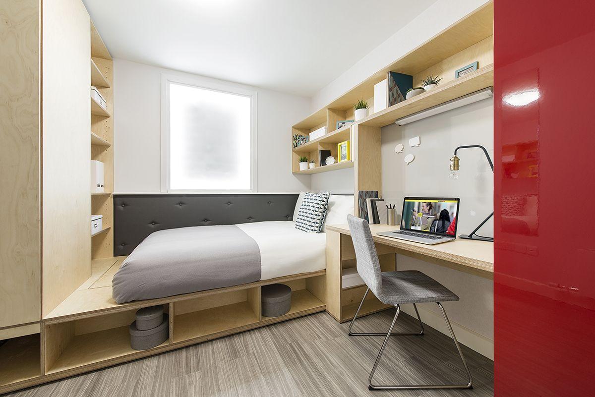Student Accommodation Cluster En Suite Bedroom Loads of