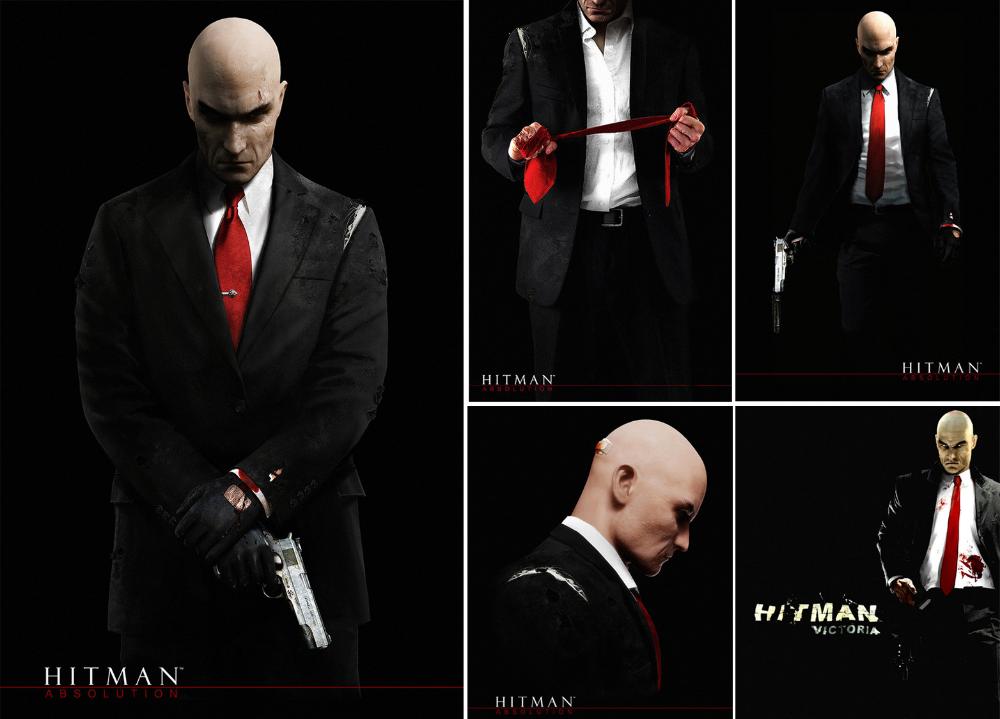 Artstation Hitman Absolution Jan Ditlev Hitman Hitman Agent 47 Agent 47