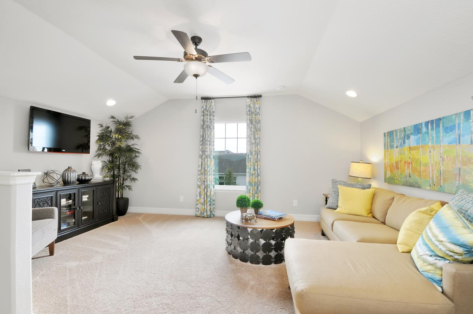 Our North Pointe Model Home Is A 4 Bedroom 3 Bath With Tons Of Upgrades An Added Bonus Room Cozy Loft Abundant Lighting And Furniture Package For