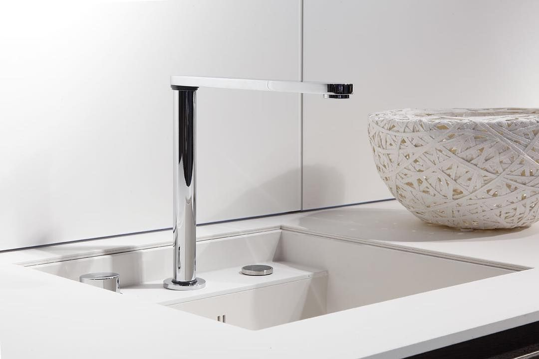 The Push Down Tap Hidden Faucet Super Idea For The Sink You Want To Tuck Away Can Be Covered By Worktop For Extra Prep Sp Sink Hidden Kitchen Bars For Home