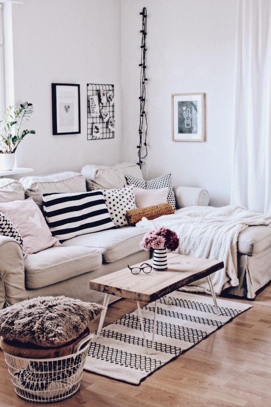 Neues Aus Dem Wohnzimmer Kissenrolle Mit Textilgarn Living