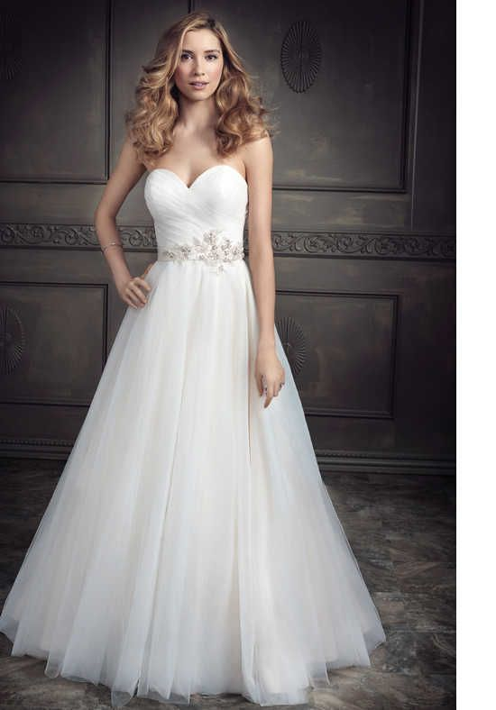 Kenneth Winston: Ella Rosa Collection BE338 Wedding Dress photo