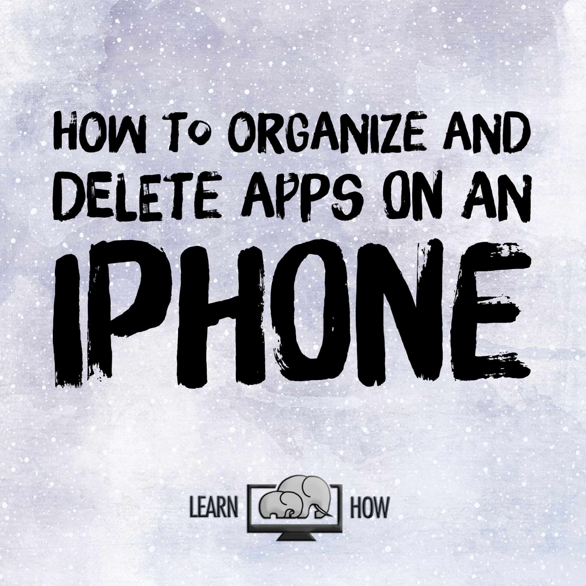 This iPhone tutorial teaches you how to delete apps from