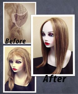 Proper care and maintenance for human hair wigs. Click to see step by step  process. Angie Wig is featured. d94479e586