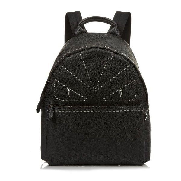 Cheap Sale Discounts Fendi Grey Bag Bugs Leather backpack Sale Amazing Price bLNPTE