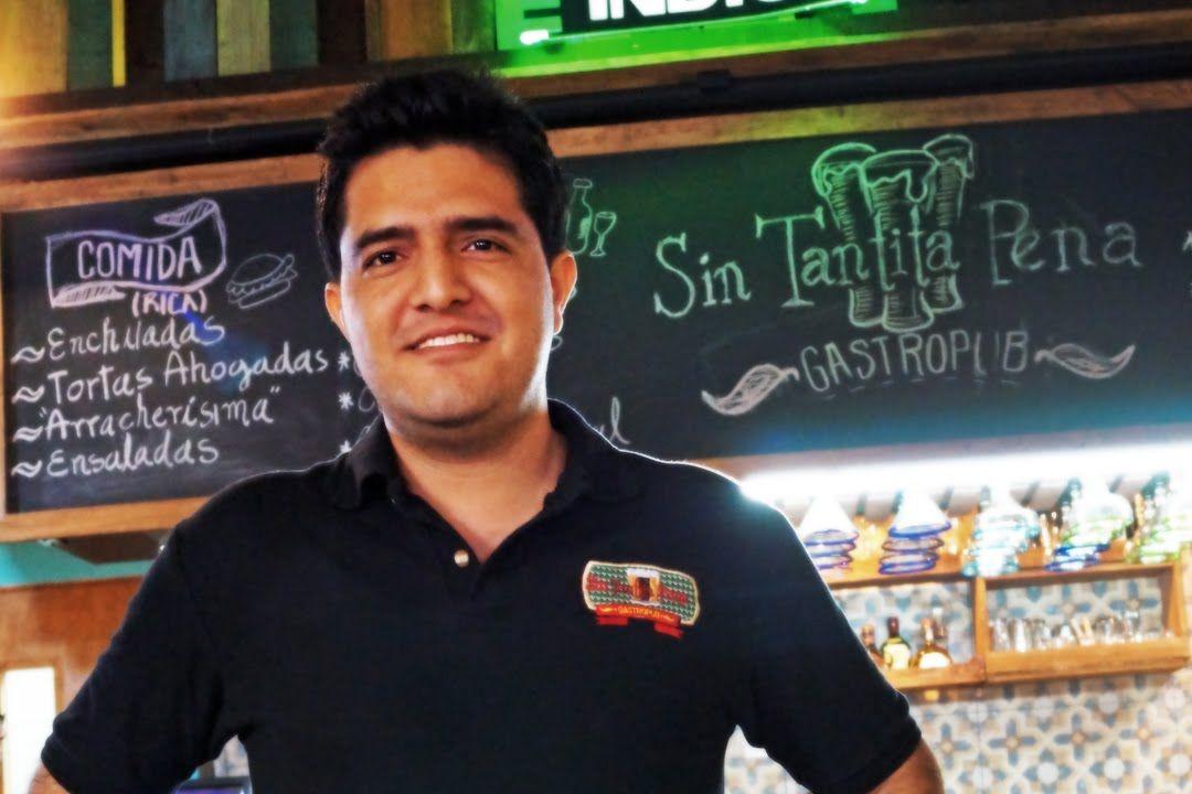 Emprendedores - Sergio Piña Sin tantita pena