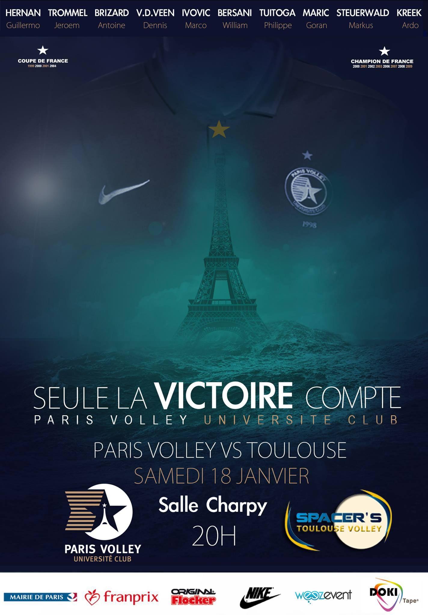 affiche Affiche, Club paris, Coupe de france