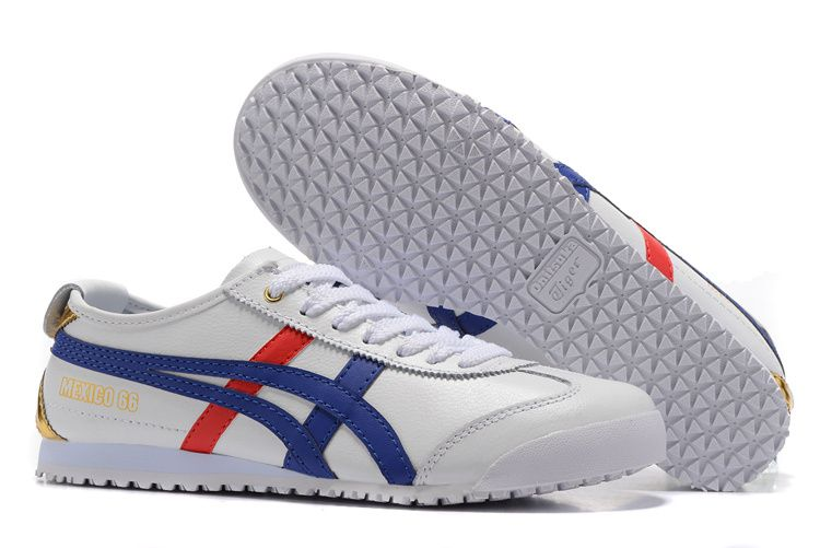 38d73c05f0d1d Onitsuka Tiger White Blue Gold Shoes