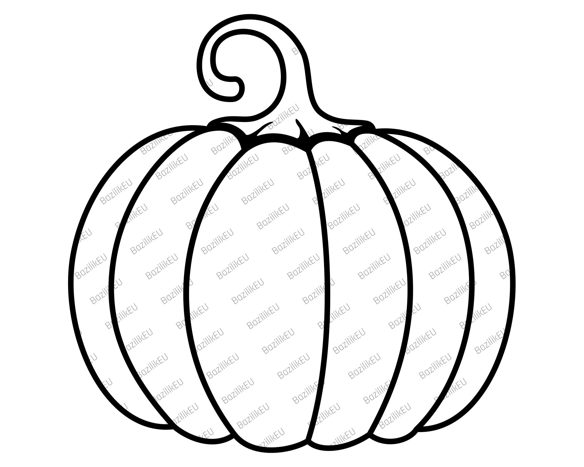 Fall Pumpkin Svg File Digital Download Halloween Svg Etsy Fall Pumpkins Pumpkin Clipart Svg