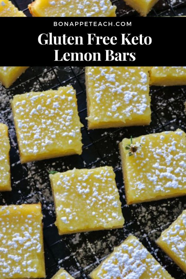 Gluten Free Keto Lemon Bars and whats even nicer is they are freezable Love th Gluten Free Keto Lemon Bars and whats even nicer is they are freezable Love th