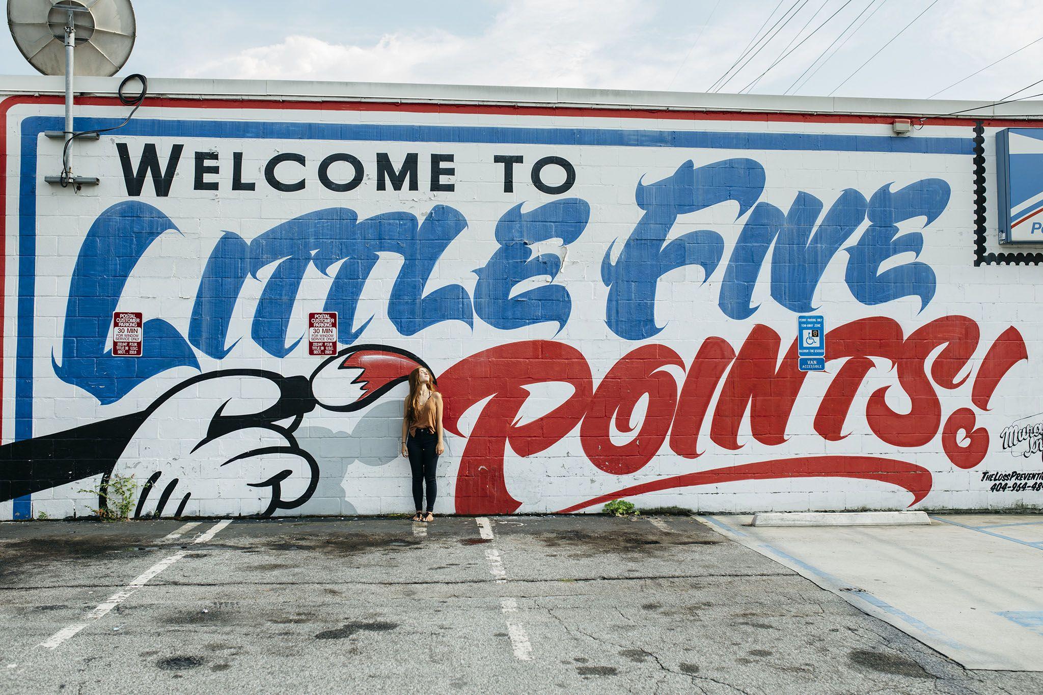 Little Five Points Post Office downtown Atlanta,