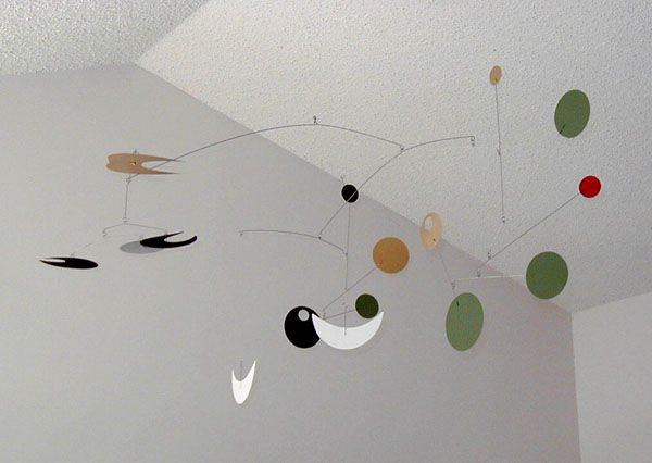"""""""Smile"""" - hanging mobile by Unigami. Commissioned for a dental office."""