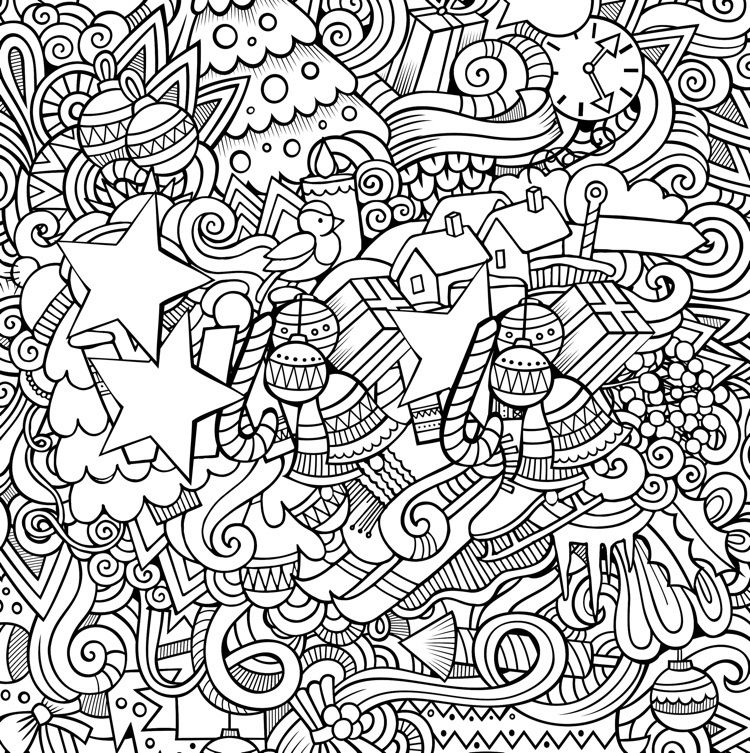 22 Christmas Coloring Books To Set The Holiday Mood
