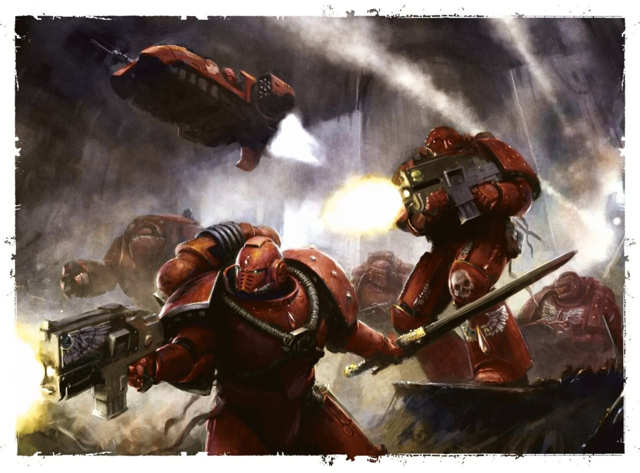 The art of Warhammer 40.000 | Warhammer 40k blood angels ...