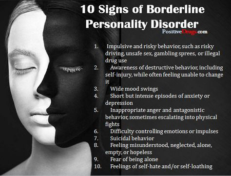Signs Of Borderline Personality Disorder In Relationships
