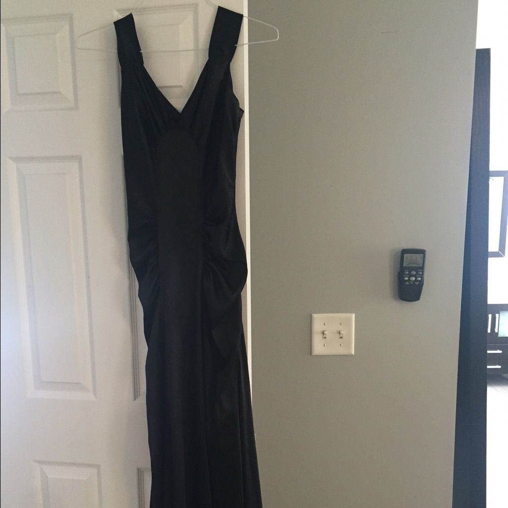 Beautiful black long dress products