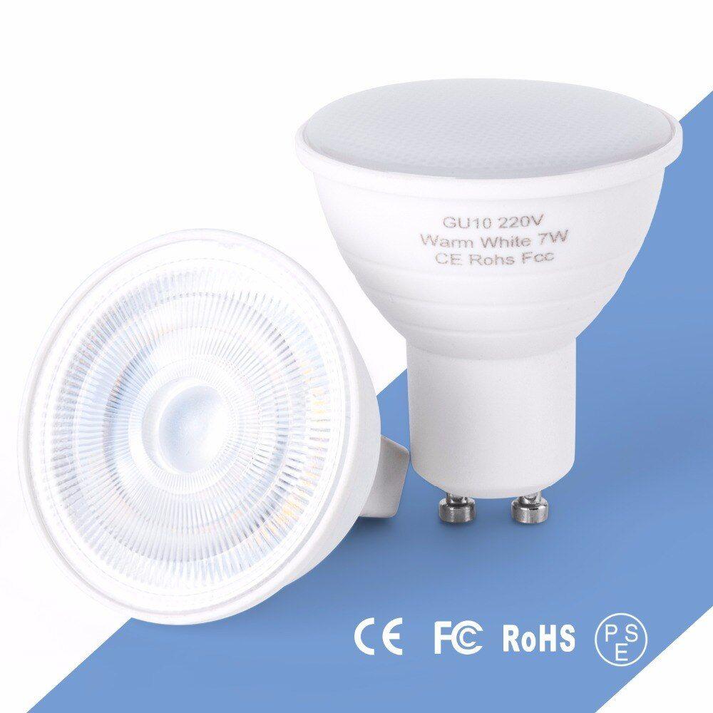 Gu10 Led Spotlight Bulb 5w 7w Mr16 Led Lamp 220v Bombillas Led Gu