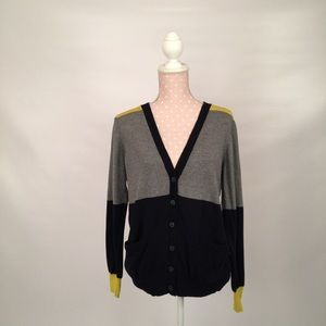 jcpenney Sweaters - Color block cashmere blend