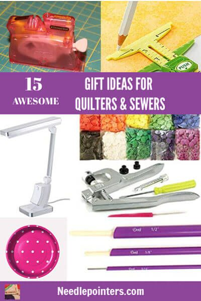 15 Gift Ideas For Quilters Sewers Stocking Stuffer Craft