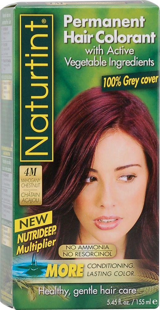 Naturtint Permanent Hair Color 4m Mahogany Chestnut All Natural