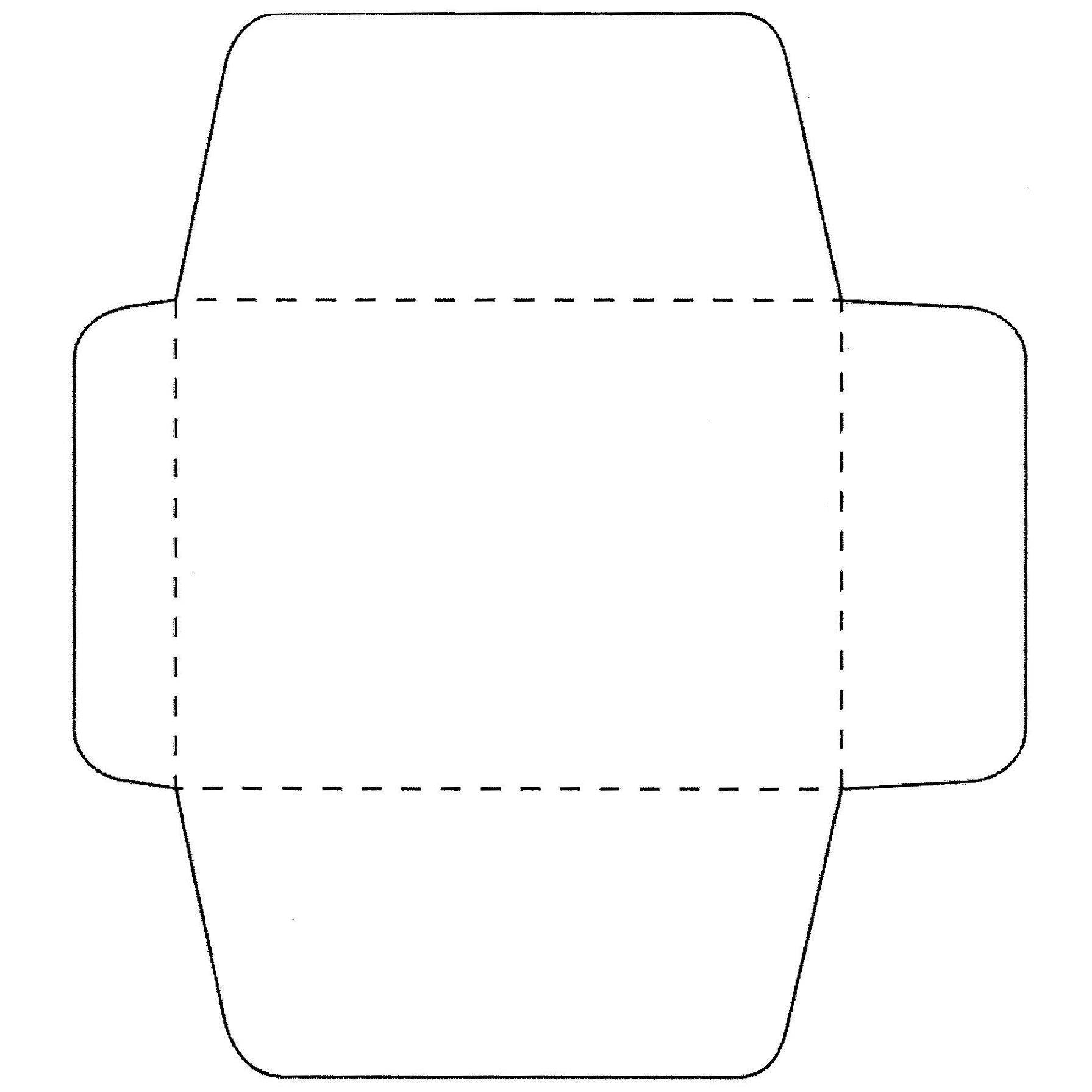 Free envelope template from june 21 2013