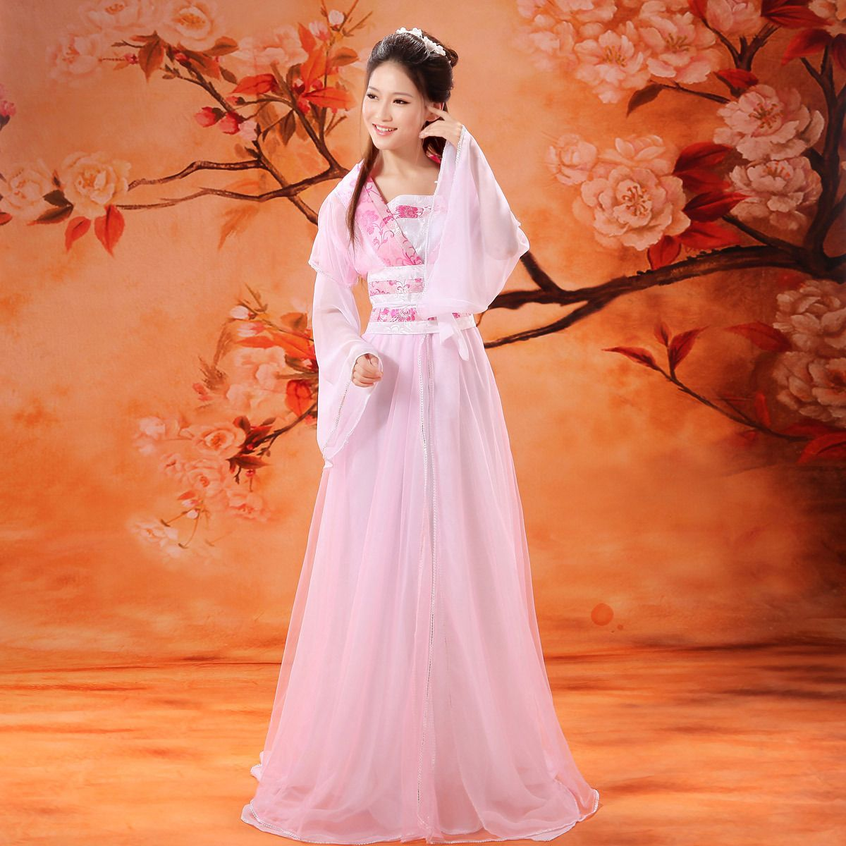de1f6db11 free P&P National clothes fairy tang suit hanfu dance costume fairy costume  clothing female hanfu(China (Mainland))