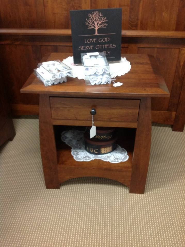 Night stand- Helen's Amish Furniture in Ripley, WV