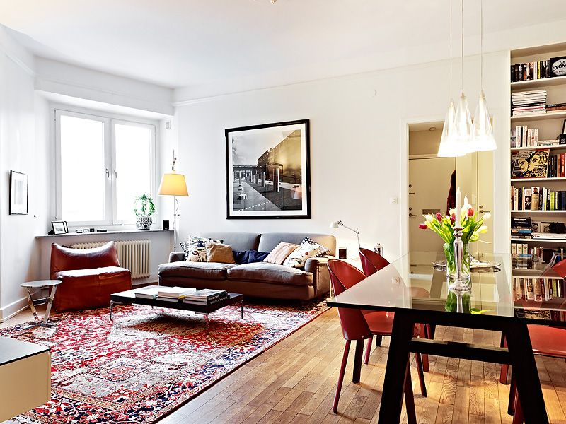 Modern Furniture With Oriental Rug a way to make an oriental rug look modern | for the home