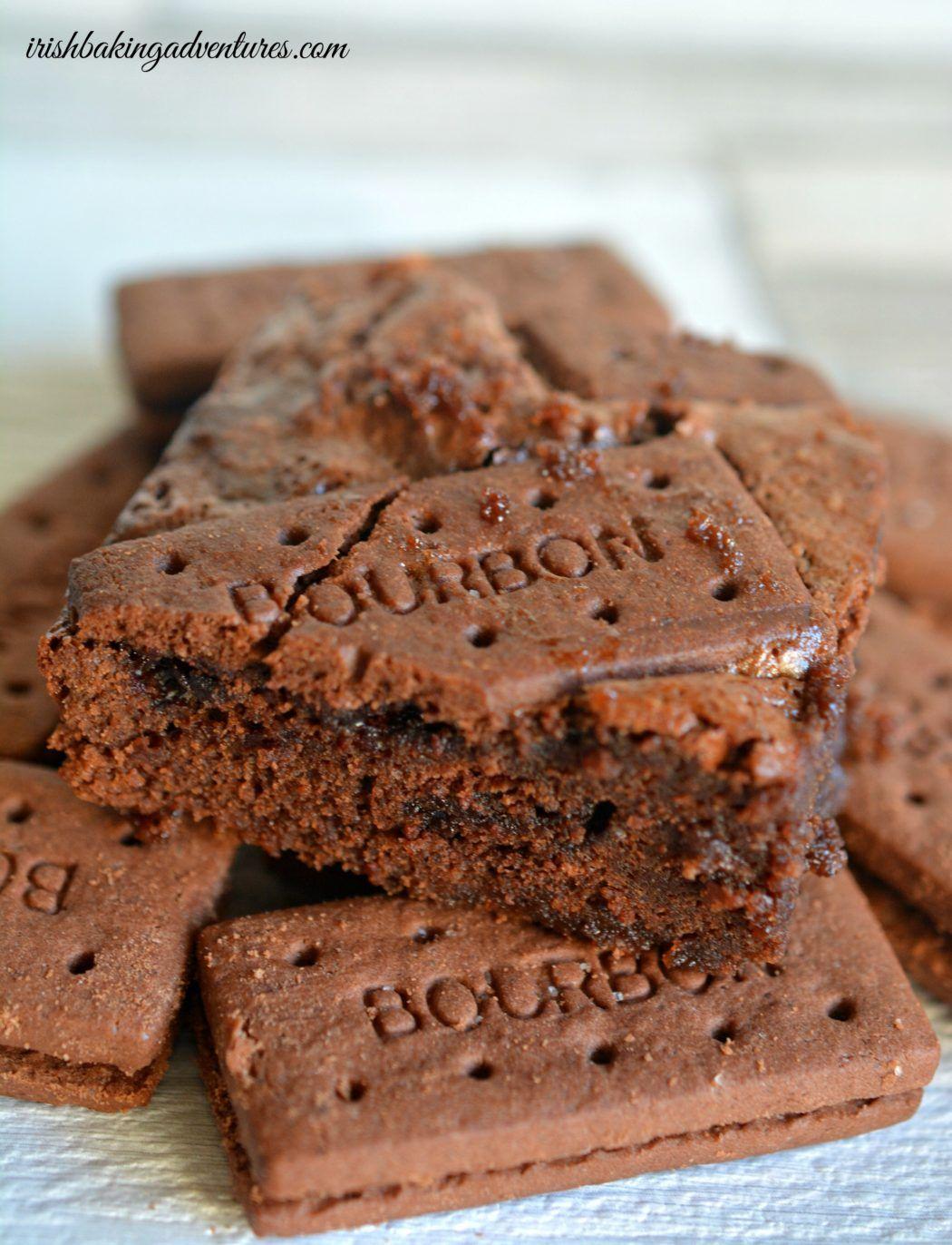 Bourbonbiscuit brownies Recipe Bourbon biscuits