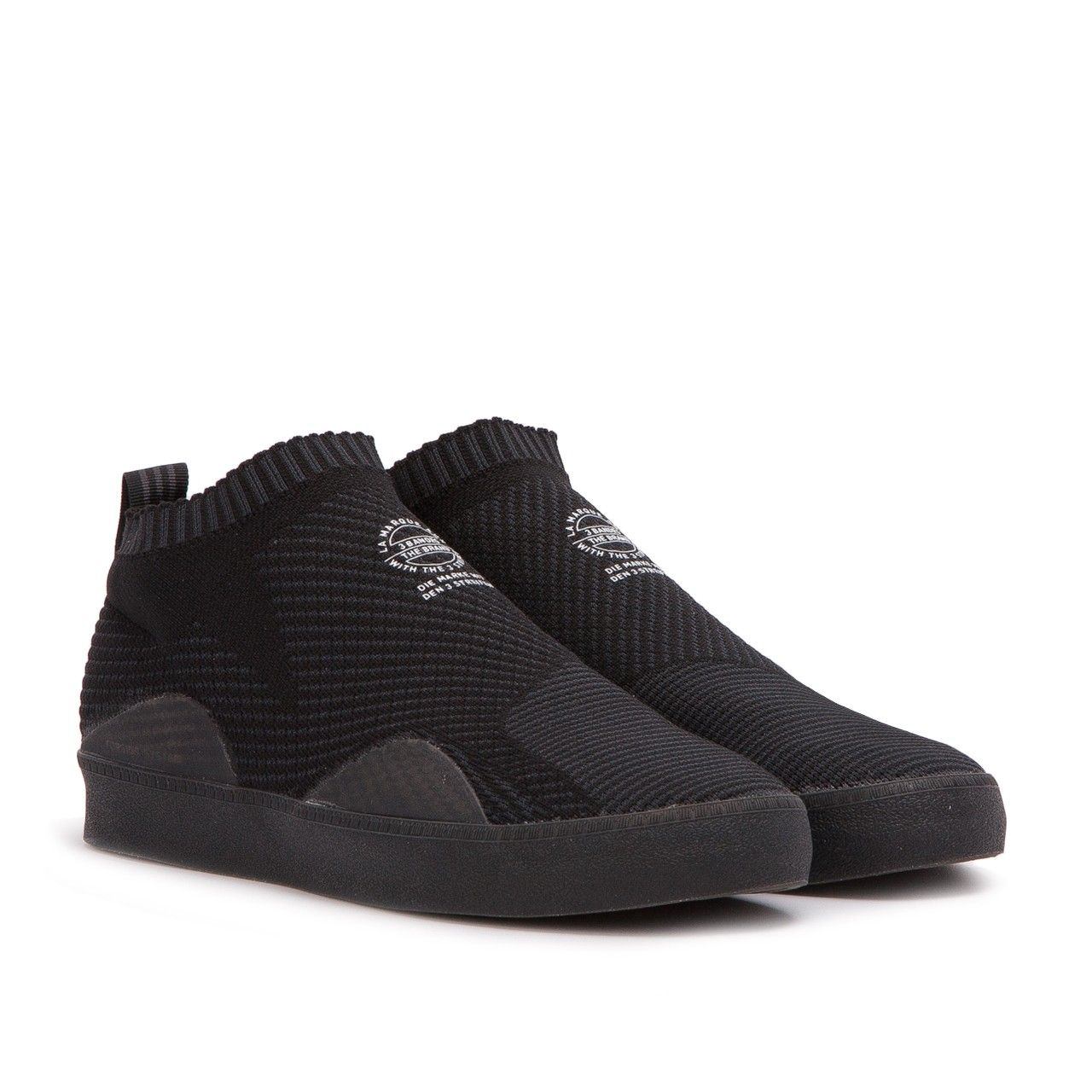 new style 9a408 0b8ae adidas 3ST.002 Primeknit (Black) and many other Sneakers from a selection  of over 30 Sneaker brands at the Allike sneaker shop, world wide shipping