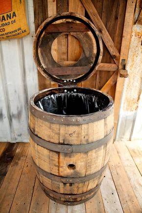 diy d co maison r cup avec vieux tonneau en bois 23. Black Bedroom Furniture Sets. Home Design Ideas