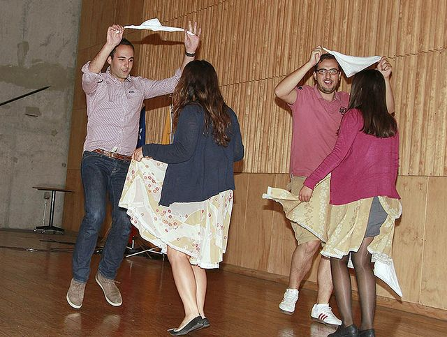 Bienvenida XVIII grupo Alumnos de Intercambio by Universidad Mayor, via Flickr