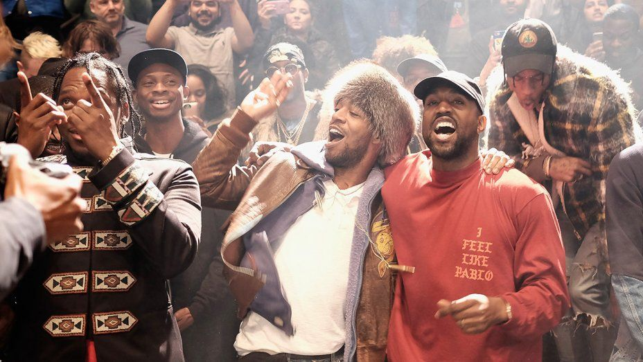 Kanye West S Yeezy Season 3 Event A Fashion Show All Its Own Kid Cudi Kanye West Kid Cudi Poster