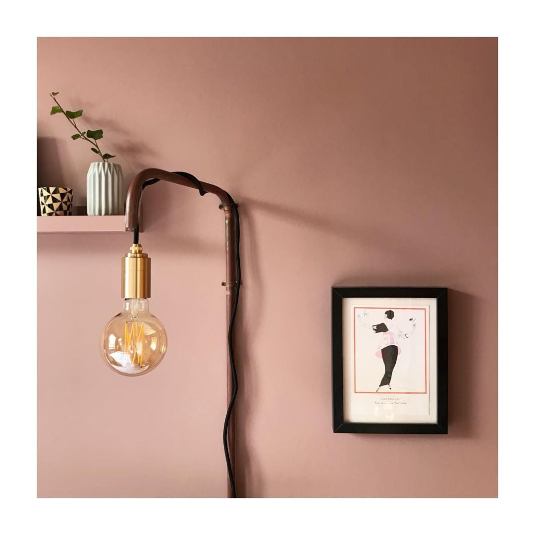 Modern Country Style Colour Study Farrow And Ball Lamp: Modern Country Style Colour Case Study: Farrow And Ball