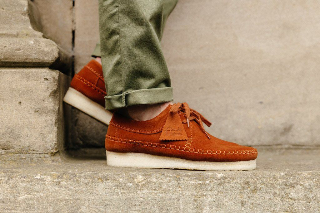 Clarks Originals Weaver Rust Suede 261199347 - soleheaven digital - 2