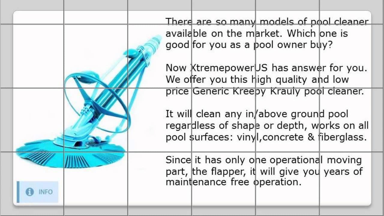 Xtremepowerus Vacuum Generic Kreepy Krauly Pool Cleaner Pool Cleaning Cleaners Vacuums