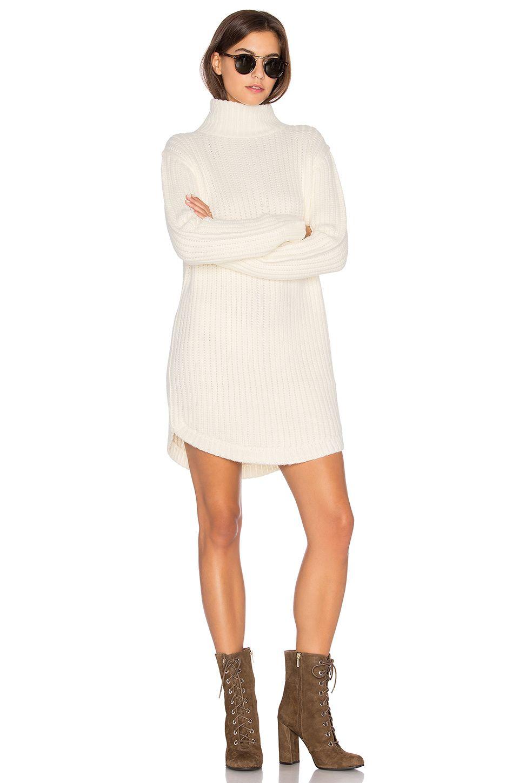 Capulet Neve Sweater Dress In Cream Short Boots With Dresses Sweater Dress Sweaters [ 1450 x 960 Pixel ]