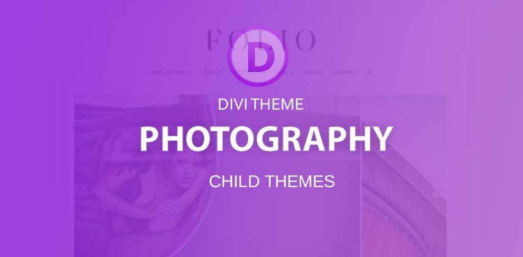 Divi photography child themes for your online portfolio #onlineportfolio