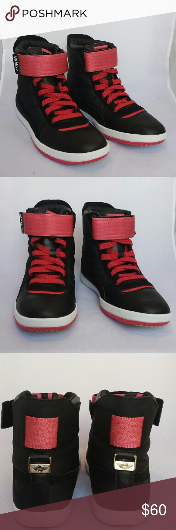 4fb3952f124 Puma  Celerity  MINI Inspired Hi-High Sneakers These cute hi-tops are