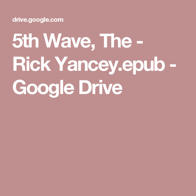 RICK YANCEY EPUB NOOK PDF DOWNLOAD