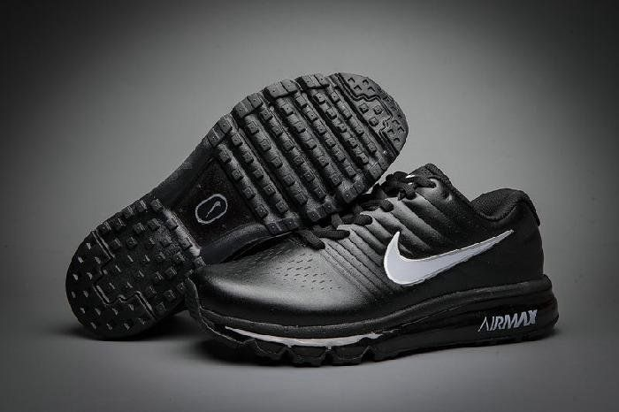 Black · Discount Nike Air Max 2017 Leather ...