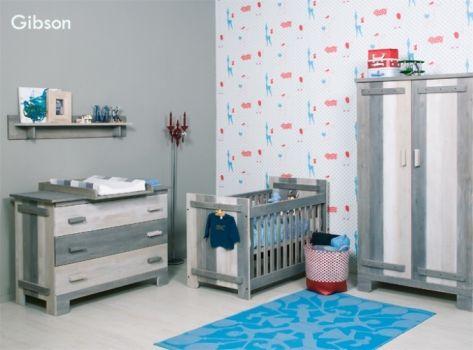 Babykamer Bopita Ideeen : Overzicht van de babykamer uit de collectie gibson van bopita