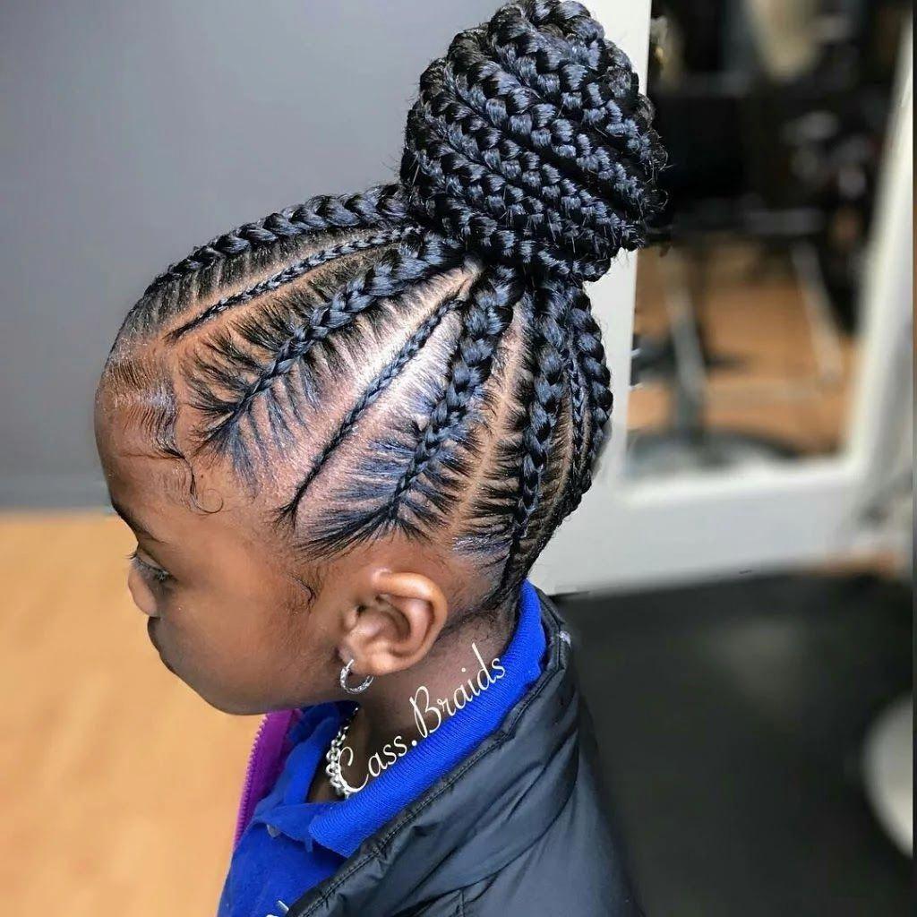 Black Teenage Hairstyles Teenagers Popularhairstylesforteenagegirl Cornrow Hairstyles Kids Braided Hairstyles African Braids Hairstyles