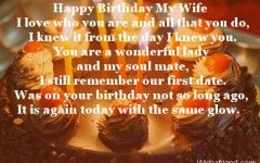 Love Quotes For Wife On Her Birthday
