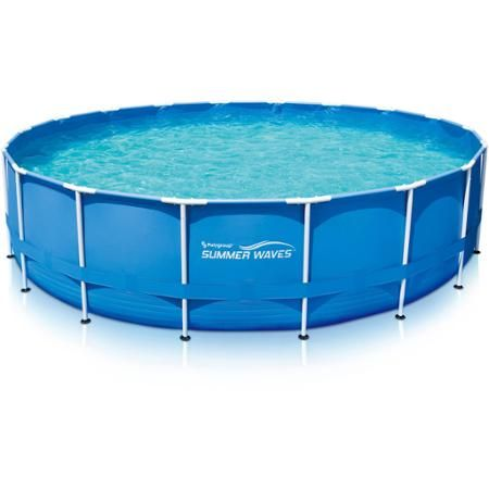 Summer Waves 18\' Above Ground Metal Frame Pool | projects ...